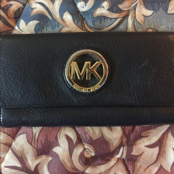 1504668493d8 Michael Kors Bags | Fulton Leather Carryall Wallet | Poshmark